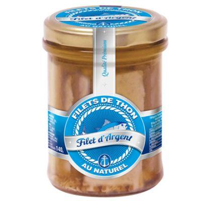 FILET D'ARGENT - Filet Thon Naturel, 200g
