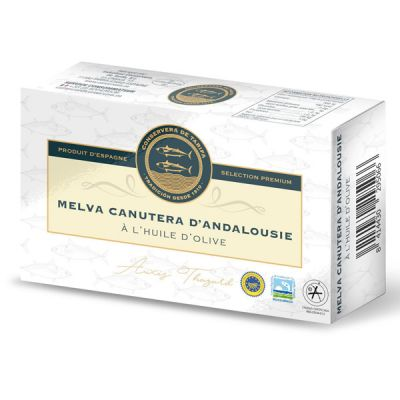 Thon 'Melva Canutera' à l'Huile d'Olive, CONSERVERA DE TARIFA - Bte 120g