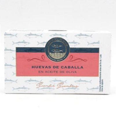 Oeufs de Maquereaux à l'Huile d'Olive, Boîte 120g - CONSERVERA DE TARIFA