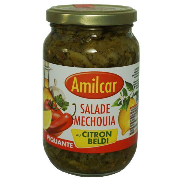 Mechouia Tunisienne au Citron, recette Piquante. AMILCAR - 37cl. Sélection Auchan