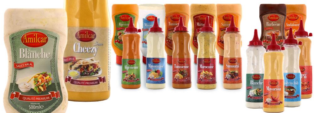 Importateur grossiste Sauces HALAL spécial restauration rapide