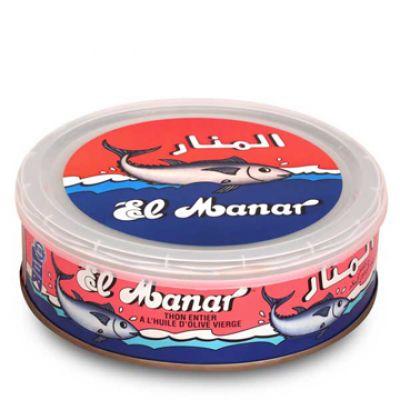 EL MANAR Thon Entier HO Bte 700g