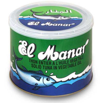 EL MANAR, Thon entier HV - 2kg