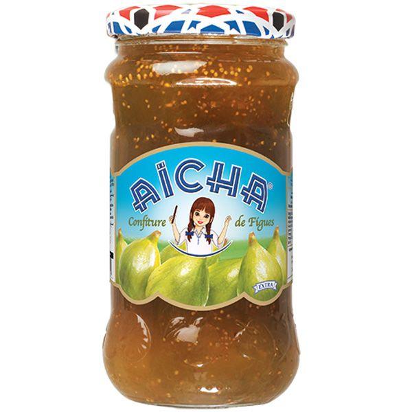 Confiture de Figues AÏCHA - Bocal 37 cl. Boutique en ligne du grossiste en confitures du Maroc
