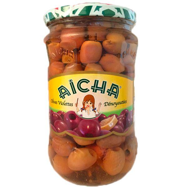 Olives Violettes pour Tagine, 72cl - AICHA