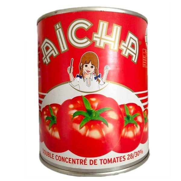 Double concentré de Tomate du Maroc AÏCHA vente en gros chez Moulin Ville
