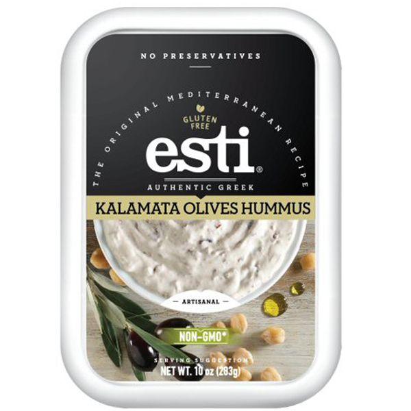 Hummus Olives KALAMATA, ESTI, grossiste spéialités de Grèce - Barq. 283g