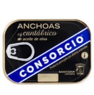 CONSORCIO 'PLATINIUM' - 78g, Filet Anchois HO