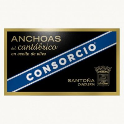 CONSORCIO 'PLATINIUM'- 90g Filet Anchois HO