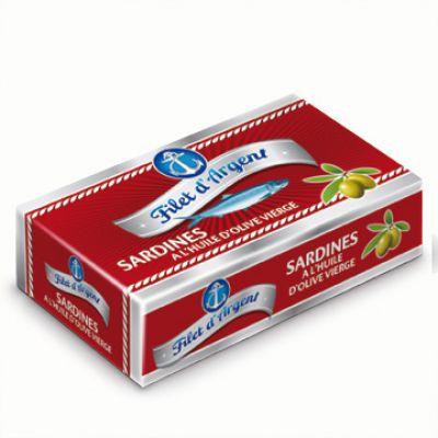 FILET D'ARGENT - Sardines HO - 125 g