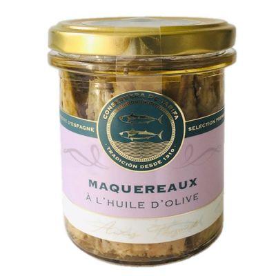 Filets de Maquereau conservé à l'Huile d'Olive, CONSERVERA DE TARIFA - 190g. Casher Pessah